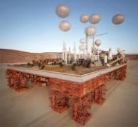 Архитектор решил соорудить гигантский мобильный город для Сахары