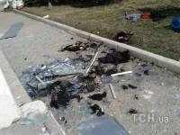В Сети появились фото из захваченной украинской части морских пехотинцев в Феодосии