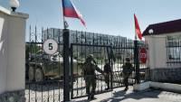 Генштаб России заявил, что российские флаги подняты уже во всех воинских подразделениях Крыма