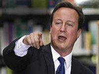 Кэмерон не исключает, что Великобритания заморозит акции российских компаний, торгуемые на Лондонской бирже