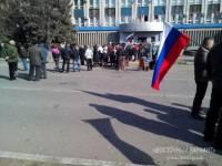 Захватчики здания СБУ в Луганске выдвинули требования