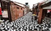 Вы когда-нибудь видели 1600 панд, собранных в одном месте? Естественно, ради великой цели