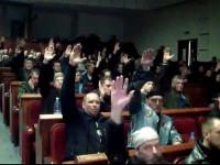 Донецкий горсовет утверждает, что не предоставлял организаторам «референдума» коммунальных помещений, но сил защищать их у него нет