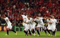 Как «Севилья» выиграла Лигу Европы. Свежие фото матча