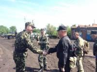 В Нацгвардии под Славянском служит старший сын министра обороны Украины