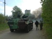 Кто-то взял под контроль окружной избирком на Луганщине. Говорят, это украинские военные
