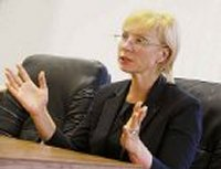 Денисова рассказала, кому должны быть «благодарны» донецкие пенсионеры в случае невыплаты пенсий