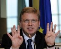 Фюле предлагает принять Украину, Молдавию и Грузию в Евросоюз