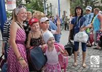 Дети из Славянска добрались до Артека. И слава Богу