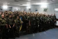 В Киев из Славянска торжественно вернулся первый резервный батальон Нацгвардии