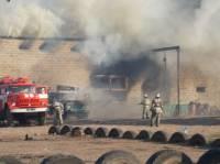 Неизвестные сожгли ферму новоназначенного главы Красного Лимана
