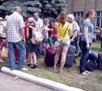 Дрогобыч отказался принимать беженцев-мужчин из Восточной Украины