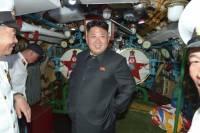 Ким Чен Ын лично проверил боеготовность подводного флота Северной Кореи