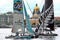 В Питере проходит этап мировой парусной регаты Extreme Sailing Series