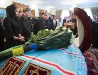 Порошенко с женой пришли попрощаться с митрополитом Владимиром