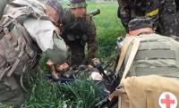 Раненых украинских солдат доставили... в РФ. На лечение /российские СМИ & соцсети/