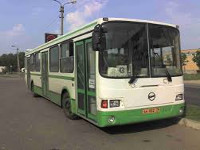 Частично восстановлено движение автобусов в направлении Славянска и Святогорска