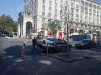 На Майдане начали появляться новые баррикады