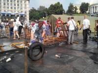 Центр Киева окончательно очистили от палаток и баррикад. Фото с места событий