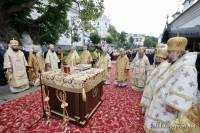 В день начала работы Собора епископов в Киево-Печерской Лавре совершается Божественная литургия