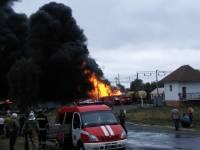Ж/д авария на Черкасщине. Репортаж с места событий