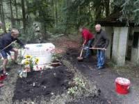 Украинцы в Мюнхене восстановили могилу Бандеры