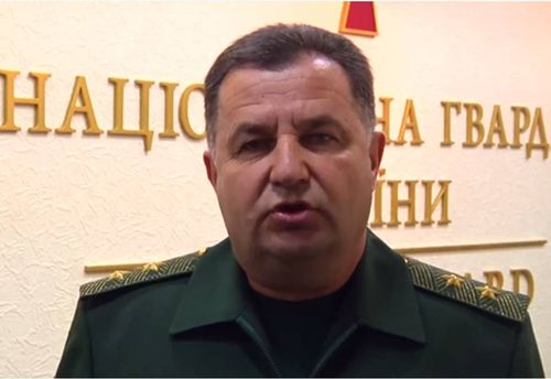 Порошенко предложил главе нацгвардии занять пост министра обороны