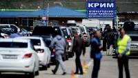 На Керченской переправе из-за непогоды застряли более 2 тысяч автомобилей