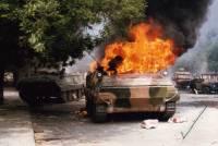 Террористы подбили украинский БТР: 7 человек погибли, 9 получили ранения