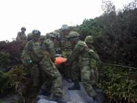 Японские медики официально подтвердили гибель 48 человек в результате извержения вулкана. Фото с места событий