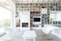 В Венгрии построили дом для тех, кто всегда мечтал жить в библиотеке