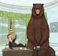 У этого американского иллюстратора весьма оригинальный взгляд на происходящее в мире
