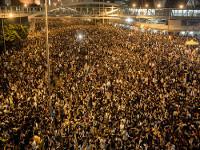 Вслед за «Майданом» в Гонконге появился и «Антимайдан»
