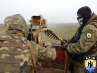 Полк «Азов» не теряет времени даром: осваивается техника и отрабатываются тактические упражнения