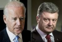 Порошенко и Байден по телефону обсудили ряд важных вопросов