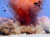 В полдень в Азовском море, недалеко от Мариуполя, прогремел мощнейший взрыв