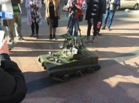 Волонтеры передали в зону АТО очень необычный танк