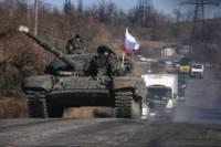 В Украину заходят российские танки, артиллерия и боевые части /НАТО/