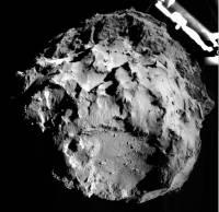 Ученые получили первые снимки кометы Чурюмова-Герасименко, сделанные зондом