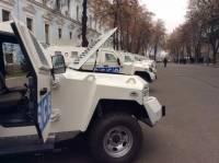Минобороны передало наблюдателям ОБСЕ бронированные автомобили