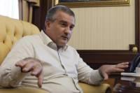 Аксенов просит у Путина продлить переходной период в Крыму. Проблем там выше крыши