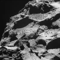 В СМИ появились первые снимки ядра кометы, сделанные модулем Philae