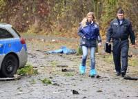 В Германии мужчина взорвал себя на глазах у полицейских