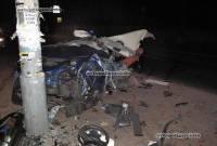 Элитное ДТП в центре Киева: Maserati буквально разорвало на две части