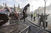 Массовая акция студентов в центре Лондона переросла в стычки с полицией