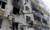 В Донецке опять раздаются взрывы. Есть новые разрушения