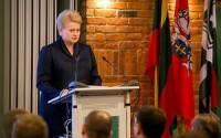 Президент Литвы обвинила Россию в трусости