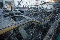 Так выглядят сгоревшие миллионы. В Сети появились снимки того, что осталось от элитных авто московских богачей