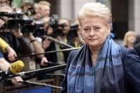 Грибаускайте обозвала Россию страной с явными признаками международного терроризма