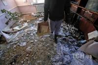Вот, что осталось от уютных домов и квартир жителей Донецка после последнего обстрела